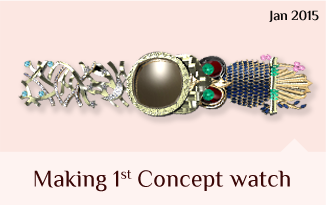 Making 1st concept watch